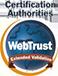 Certificado de Validación Extendida Webtrust