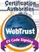 Certification Webtrust Extended Validation Code Signing