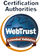 Webtrust uitgebreide validatie certificering (Extended Validation Certification)